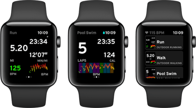 Apple Watch Fitness Apps Workouts ++