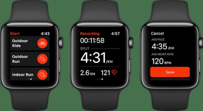 Apple Watch Fitness Apps Strava