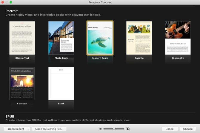 Comment écrire un ebook: modèles d'auteur iBooks