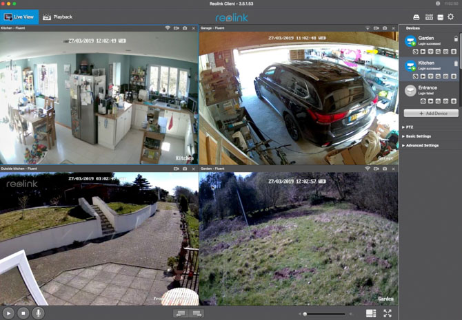 Reolink C2 Pro 5MP: caméra de sécurité intérieure ultra claire (test et remise!) Reolink c2 pro pc software 4 up