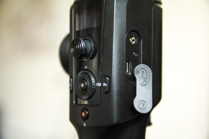 Port USB-C du cardan Moza Air 2
