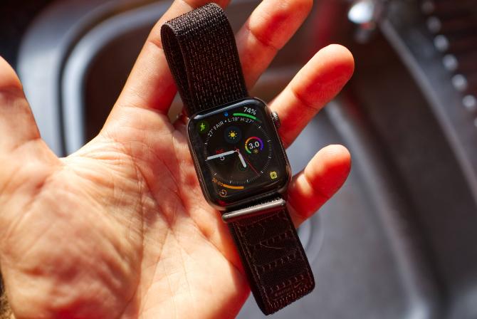 Eine saubere Apple Watch!