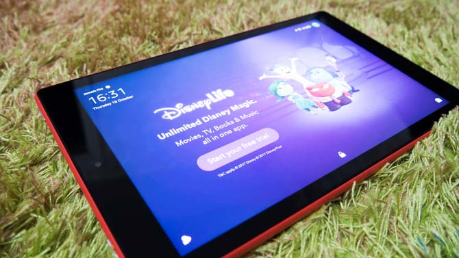 Amazon Fire HD 10 (2017) Review: La meilleure valeur autour de Fire HD 10 Review Disney Ads