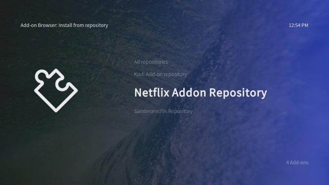 Installer le module complémentaire Netflix pour Raspberry Pi