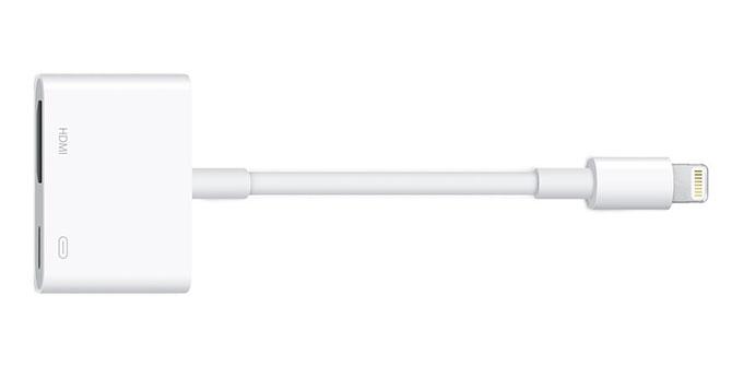 Adaptateur HDMI Apple