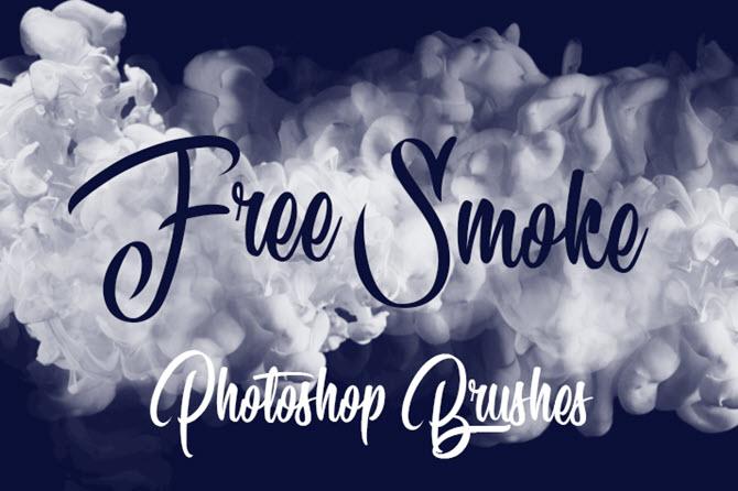 Pinceaux de fumée gratuits pour Adobe Photoshop