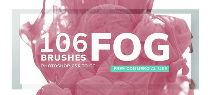 Brosses à brouillard pour Adobe Photoshop