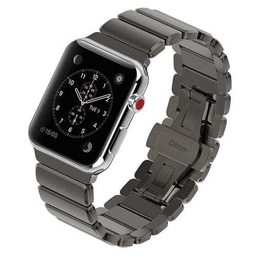Bracelet montre Apple Watch en acier inoxydable Oittm