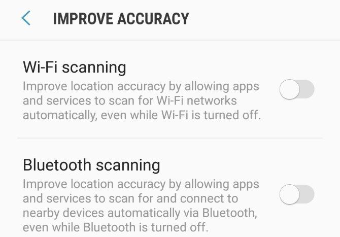 L'emplacement du S8 améliore l'écran de précision