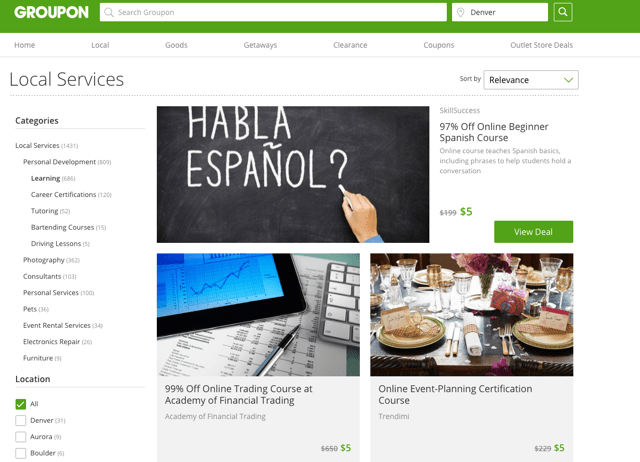 groupon-learning