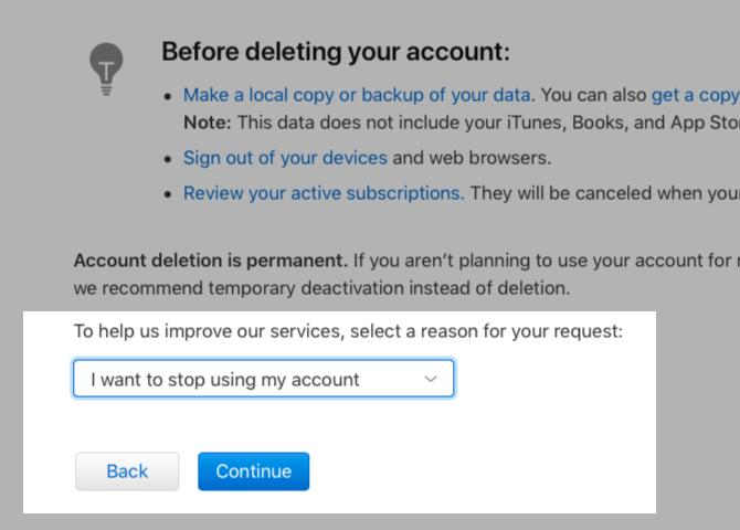 select-reason-apple-id-deletion