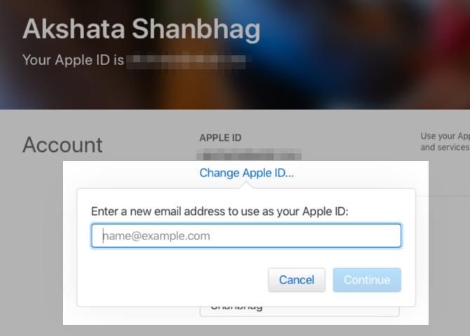 change-apple-id