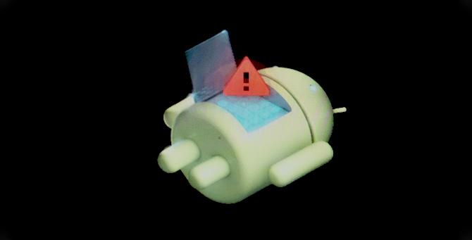 téléphone android brique