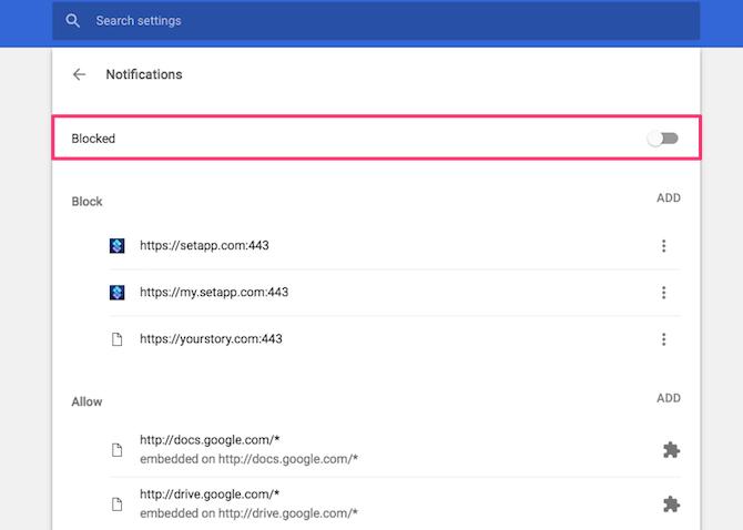 comment désactiver les notifications Chrome Firefox Firefox
