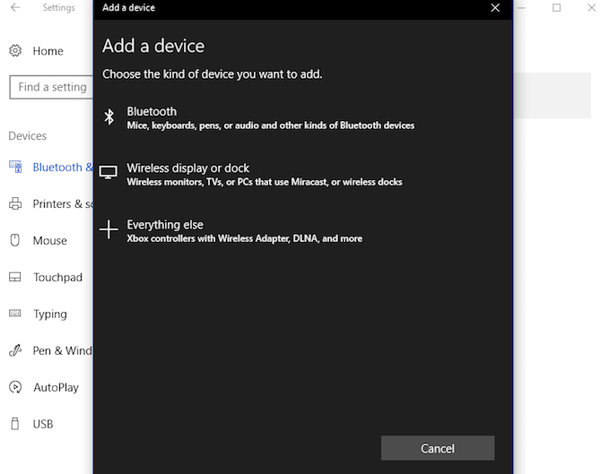 So projizieren Sie Windows 10 mit Miracast Windows 10 Miracast Wirelessdisplayordock auf TV