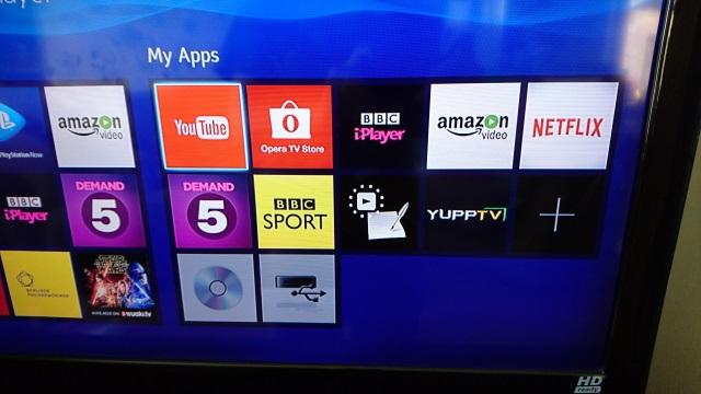 Anwendungen Smart TV
