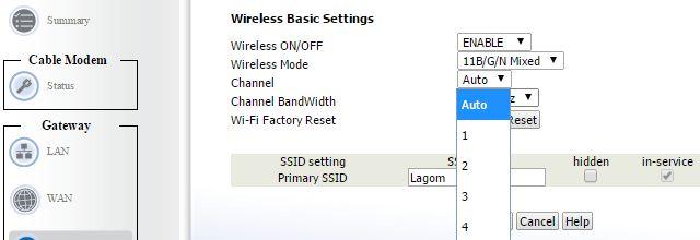 Kanal WiFi