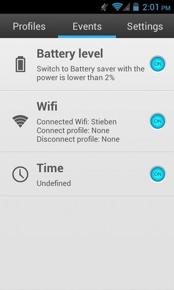 Android-Profil automatisch wechseln