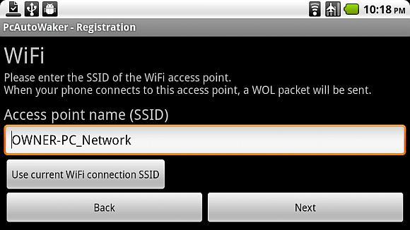 Schalten Sie Ihren PC mit Android-Gerät über WLAN ein [WoW LAN] wake8