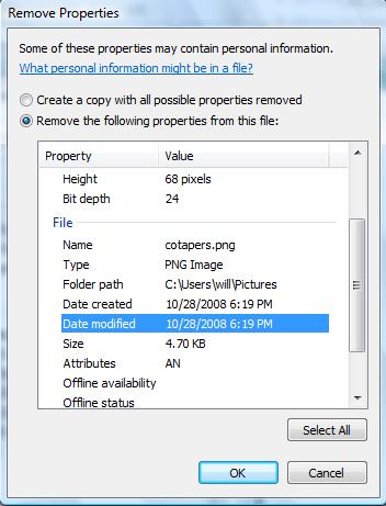 supprimer les informations personnelles de l'ordinateur
