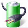 indicateur de batterie d'ordinateur portable de fenêtres