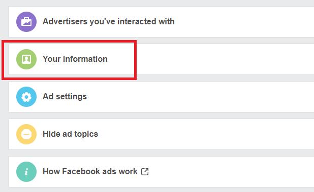 Facebook sagt Ihre politische Position basierend auf Ihrer Facebook-Anzeigeninfo-Aktivität voraus