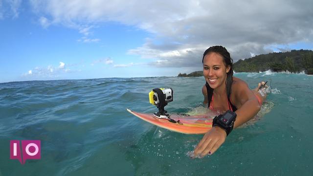 planche de surf Sony Action Cam