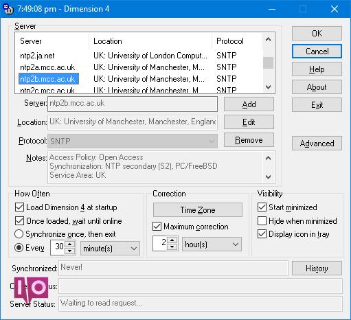 Comment faire correspondre tous les temps de votre PC avec une dimension de synchronisation d'horloge atomique 4