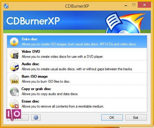 cdburnerxp-capture d'écran