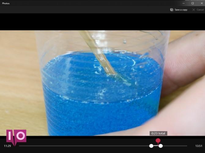 Modifier la vidéo YouTube dans les photos
