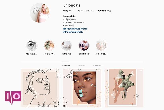Instagram Puzzle Themes juniperoats