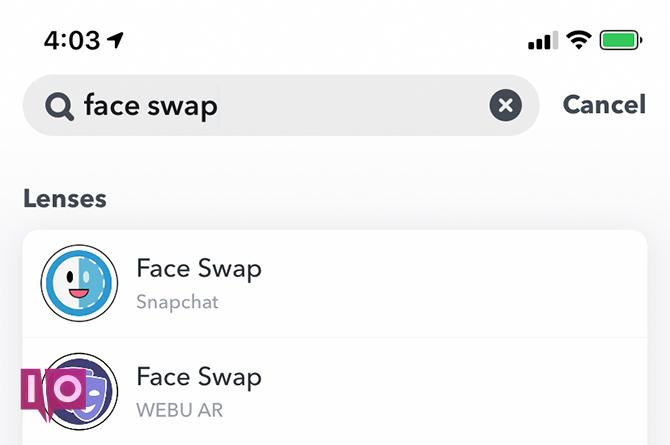Comment utiliser Snapchat Face Swap