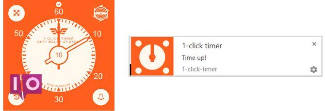 1clicktimer timer app chrome