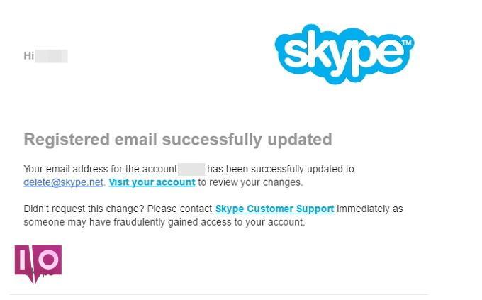 suppression de compte skype