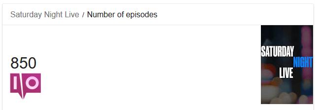 Résultat de recherche Google pour SNL