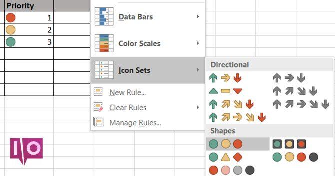 Formatage conditionnel Excel - Priorité au travail