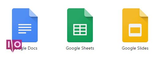 Icônes Google Documents