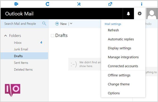Extensions d'Outlook Opera