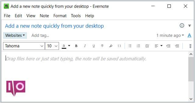 EvernoteWindowsDesktopAjouterRemarque