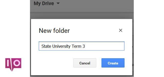 GoogleDriveNewFolder