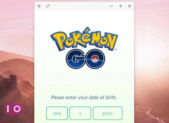 Pokemon Go dans Remix OS