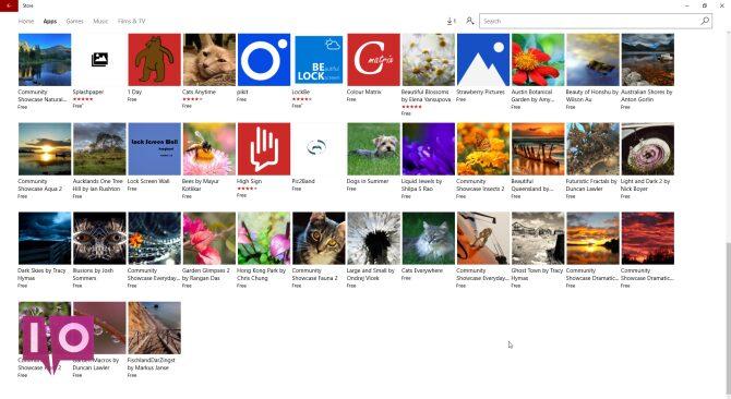 Windows 10 stocke de nouveaux thèmes