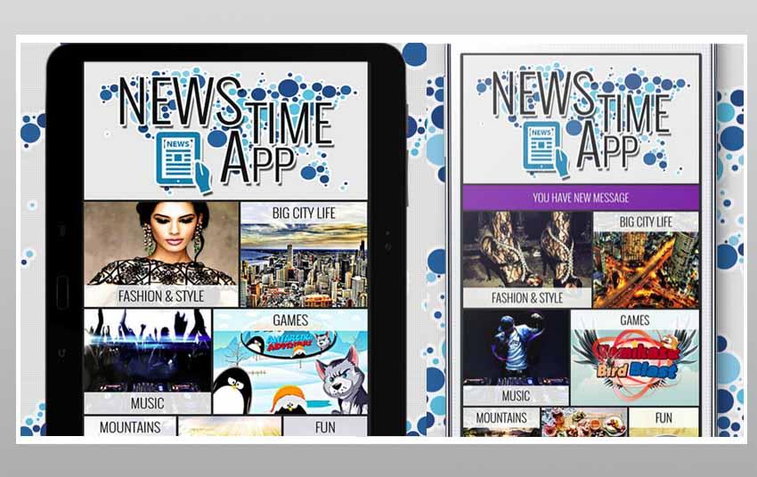Actualités Time App