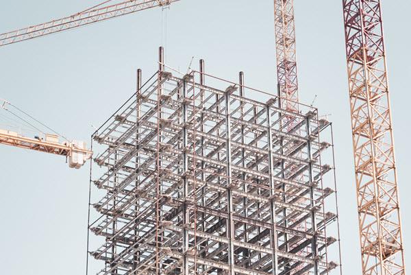 construction de bâtiments métalliques