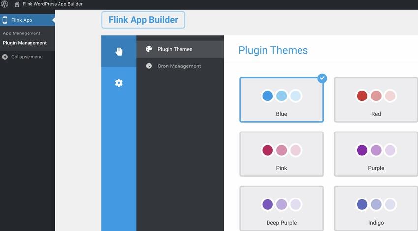 Flink - Générateur d'applications WordPress