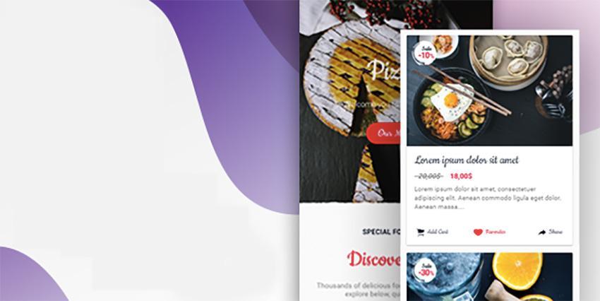 Application de restaurant Ionic 3