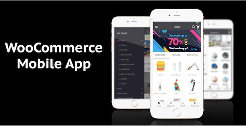 Application mobile WooCommerce