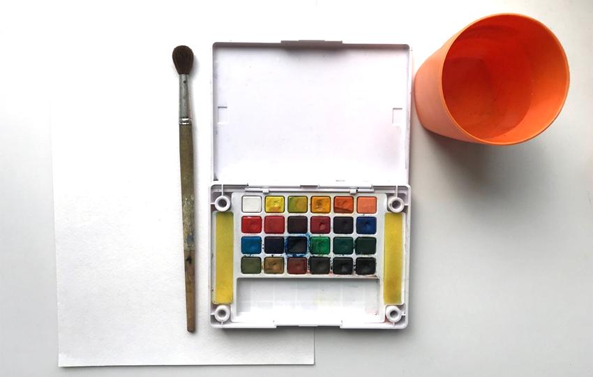 Fournitures d'aquarelle dont vous aurez besoin
