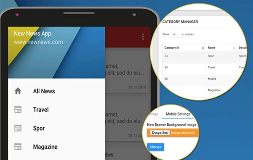 Nouvelle application Android Actualités
