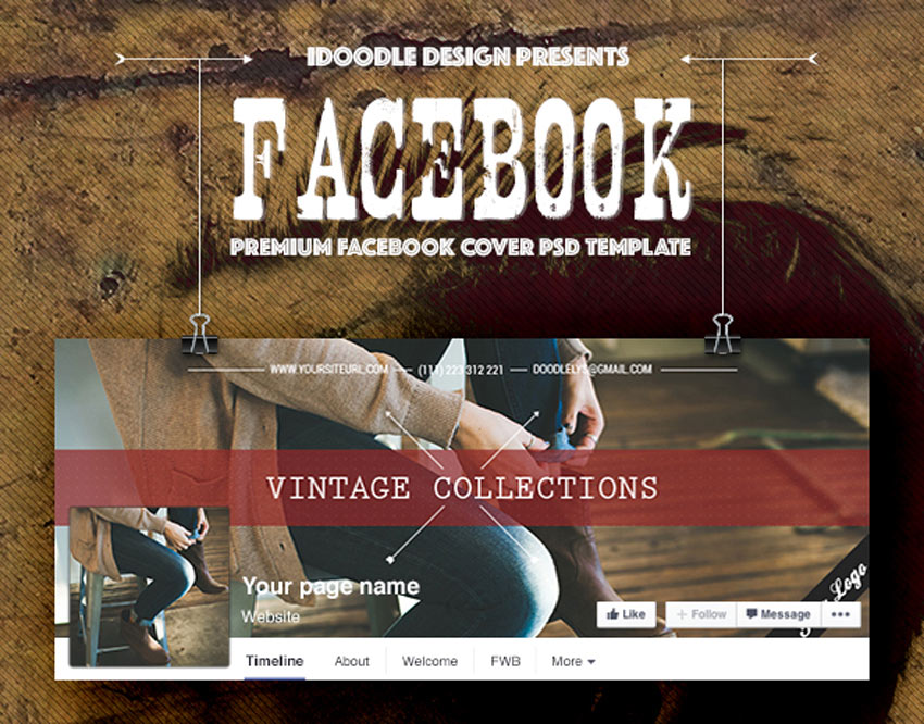 Couvertures de mode Facebook